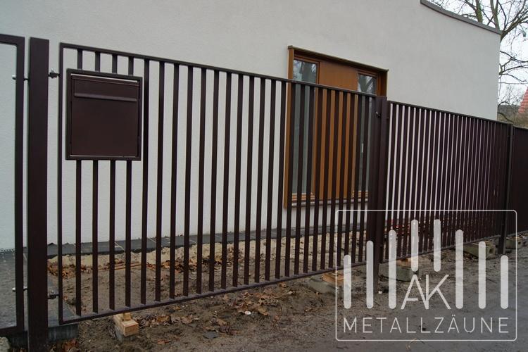 AK-Metallzäune - Zäune aus Polen - IRMINA MODERN ZAUN
